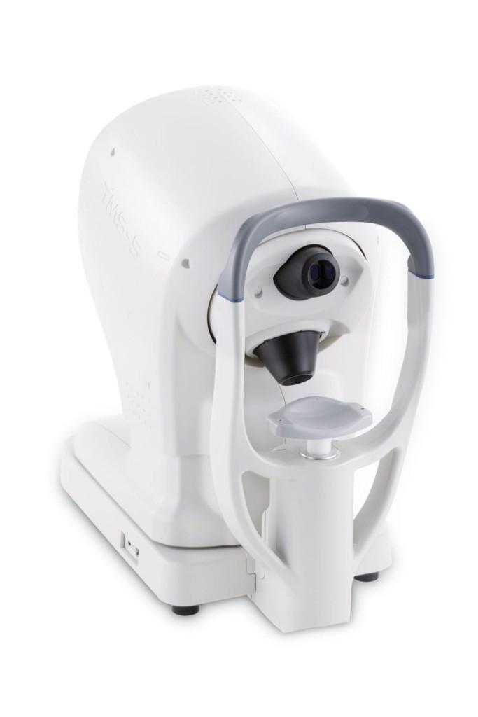 Scheimpflug camera (ophthalmic examination) / table / human